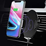 USAMS Handyhalterung Auto Induktiv Lüftung, Voll-Automatisch Touch Kontrolle Kfz Handy Halterung Handyhalter fürs Auto Universal für Apple iPhone X 8/8 Plus Samsung Galaxy S9/S9+ S8/S8 Plus S7/S7 Edge/S6 Edge + Note 8/Note 5