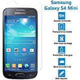 Samsung Galaxy S4 Mini - Véritable vitre en verre trempé ultra résistante - Protection écran