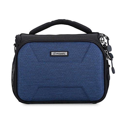 DSLR-Kameratasche, beliebte SLR-Kameratasche, Messenger Bag Anti-Diebstahl, große Kapazität, wasserdichte Kameratasche für Canon Nikon, blau