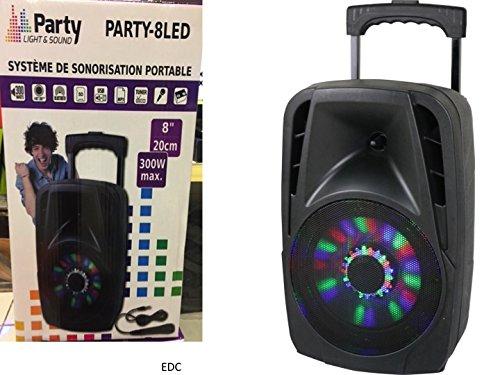 party-light-sound-party-8led-tragbares-soundsystem-20-cm-8-zoll-300w-mit-usb-bluetooth-fm-und-mikrof