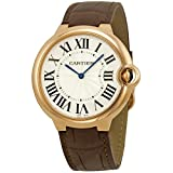 CARTIER MEN'S BALLON BLEU DE CARTIER 40MM BROWN AUTOMATIC WATCH W6920083