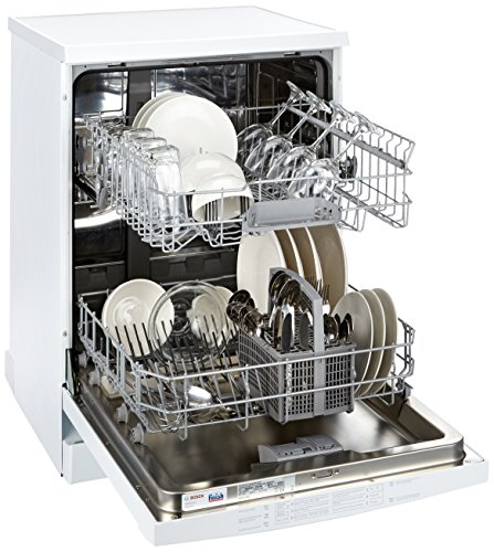 Bosch Free-Standing 12 Place Settings Dishwasher (SMS60L12IN, White)