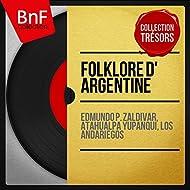 Folklore d' Argentine (Mono Version)