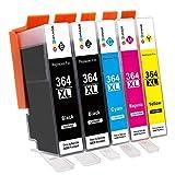 hp 364 druckerpatronen multipack: hp 364xl druckerpatronen 364 patronen * HP Deskjet 3070A E-All-in-One  * HP Photosmart 5510, 5512, 5514, 5515, 5520, 5522, 5524, 4622, 6510, 6520e, 7510, 7520, 7515, E-All in-One  * HP Photosmart B8550, C5324, C5...