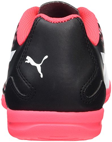 Puma Adreno III It, Chaussures de Football Homme Noir (Puma Black-puma White-bright Plasma 02)