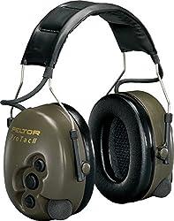 3M Impuls-Kapselgehörschutz PTA, Kopfbügel, verstärkt Umgebungsgeräusche, SNR 32 dB, 1 Stück, Grün, PTAC2G