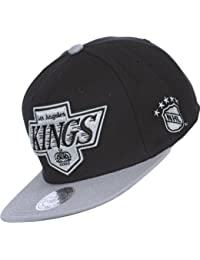 Mitchell & Ness - Casquette Snapback Homme Los Angeles Kings XL Logo 2Tone