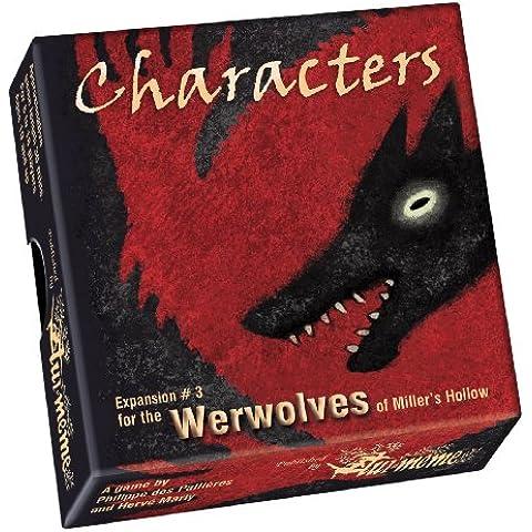 Lui-Meme - Werewolves of Miller's Hollow, Gioco di carte - Espansione: Personaggi [lingua inglese]