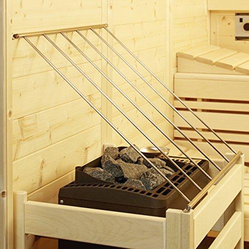 Infraworld Schutzgitter Edelstahl für Saunaofen Saunazubehör B3419