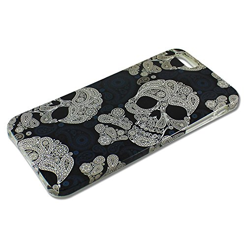 Apple iPhone 6 Plus HQ TPU SILICON REFUSE TO SINK design case coque housse smartphone bumper Flip bag Cover smartphone protection thematys® HQ Totenköpfe