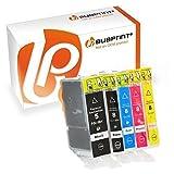 Bubprint 5 Druckerpatronen kompatibel für Canon PGI-5BK CLI-8 für Pixma IP3300 IP3500 IP4200 IP4300 IP4500 IP5200 IX4000 MP510 MP600 MP610 MP970 MX700