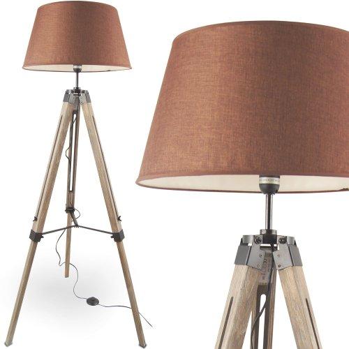 MOJO Stehlampe Höhenverstellbar Stehleuchte Tripod Lampe Leselampe Dreifuss mq-l33