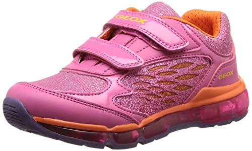Geox  J ANDROID GIRL B, Sneakers Basses fille Rose (C8345)