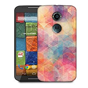Snoogg Cube Spaces Designer Protective Phone Back Case Cover For Moto X 2nd Generation