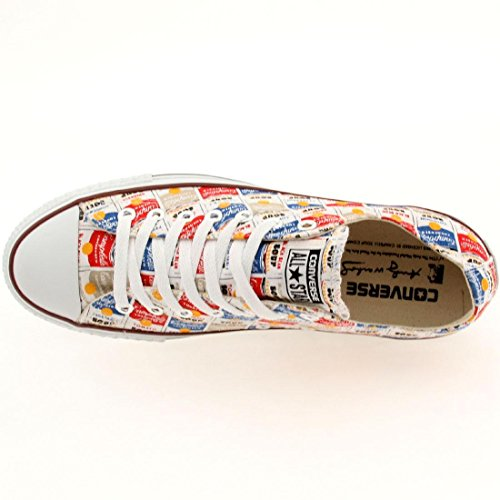 Converse Chuck Taylor All Star Low Ox - Warhol white / casino / blue