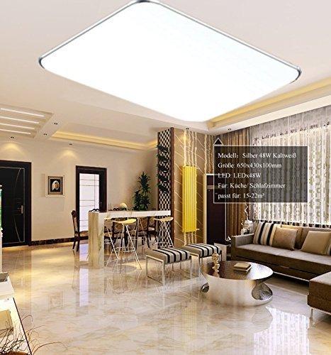 Lámpara LED Ultra Delgada SAILUM 48 W. Minaled.com