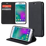 ECENCE Handyhülle Schutzhülle Case Cover kompatibel für Samsung Galaxy Xcover 3 Handytasche Schwarz 45020104