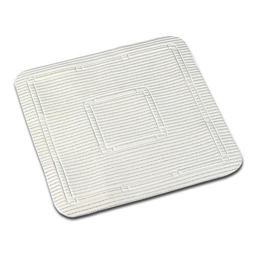Homecraft Duschmatte, weich, 55,5x 55,5cm, weiß