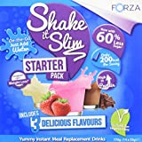 Best Tasting Weight Loss Shakes - FORZA Shake It Slim Meal Replacement Weight Loss Review
