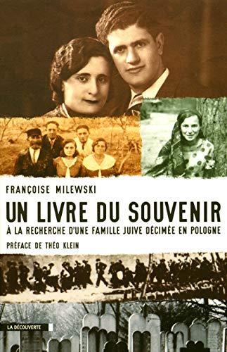 Un livre du souvenir par Françoise MILEWSKI