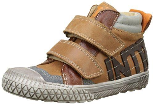 BabybotteKyo - Pantofole a Stivaletto Bambino , marrone (Marrone (Cammello )), 35 EU