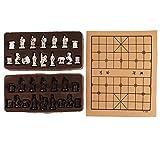 Sharplace Xiangqi Chinesisches Schachspiel Set mit 32 Schachfiguren