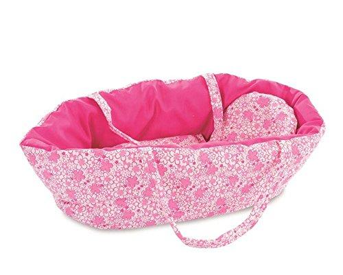 Puppentragetasche Blumen pink klein