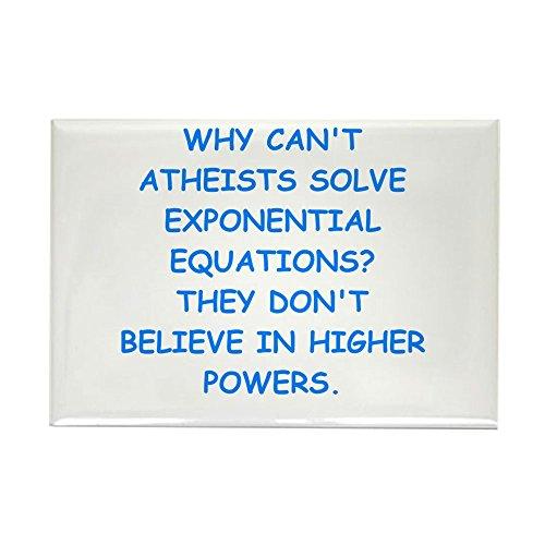 CafePress–Atheist Mathematische Magnete–Rechteck Magnet, 5,1x 7,6cm Kühlschrank Magnet