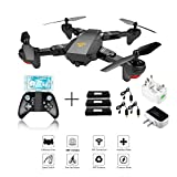 XS809W Foldable RC Quadcopter avec Altitude Hold FPV VR Wifi Grand
