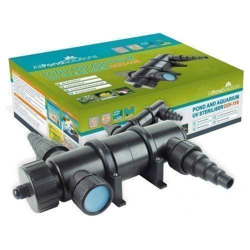 Stérilisateur / Décanteur à eau pour étang aquarium UV 18W...
