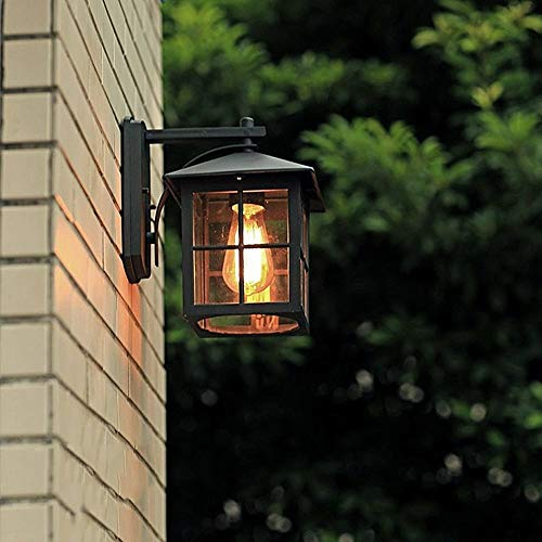 Tao-Miy Europäische moderne wasserdichte Wandlampe im Freien, Metallkorridorgang-Weinlese-Schlafzimmer-Druckgussaluminiumlampen, Dekoration (Weinlese-hochzeits-kuchen-dekoration)