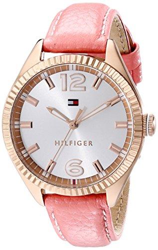 Tommy Hilfiger–Reloj de pulsera analógico para mujer cuarzo piel 1781516