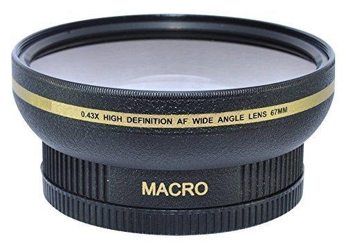 Power^UP 67MM (67 mm) Grandangolare Macro Convertitore Obiettivo per Canon, Carl Zeiss, Fujifilm, N