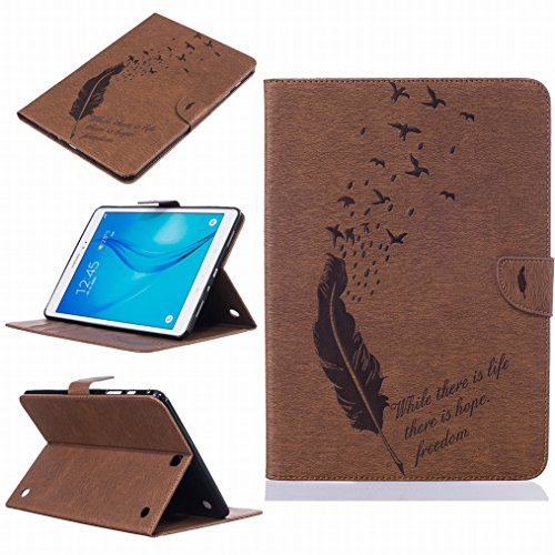 lemorry-samsung-galaxy-tab-a-97-t550t555-funda-estuches-pluma-repujado-cuero-flip-billetera-bolsa-pi