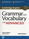 Grammar and Vocabulary for Advanced Book with Answers and Audio: Self-Study Grammar Reference and Practice (Cambridge Grammar for Exams) by Martin Hewings (19-Feb-2015) Paperback
