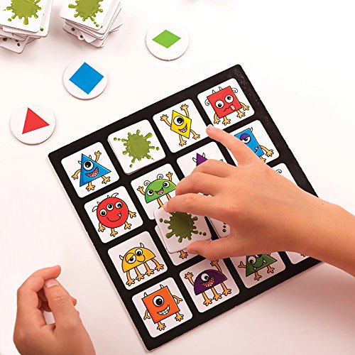 Imagen 2 de Orchard_Toys bingo de los monstruos - Juego de mesa
