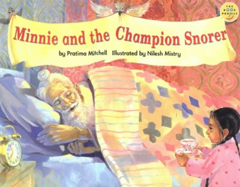 Minnie and the champion snorer.