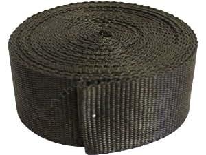 38 mm x 5 m Sangle en polypropylène Noir
