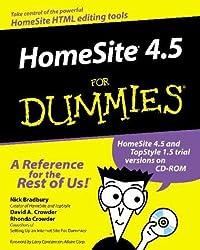 Homesite 4.5 for Dummies by Nick Bradbury (2000-04-30)