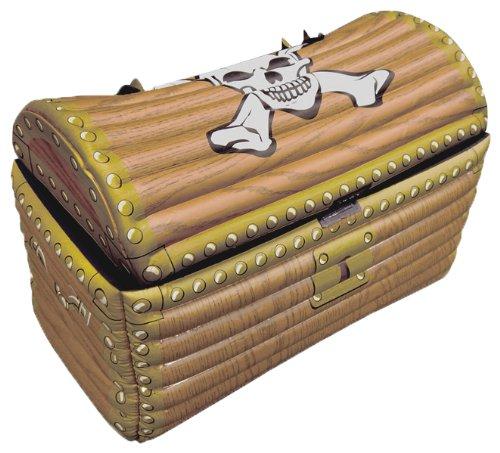 Partyrama - Nevera hinchable, diseño de cofre del tesoro