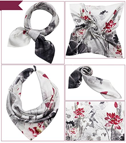 SUNDAYROSE - Foulard - Femme Grey Lotus