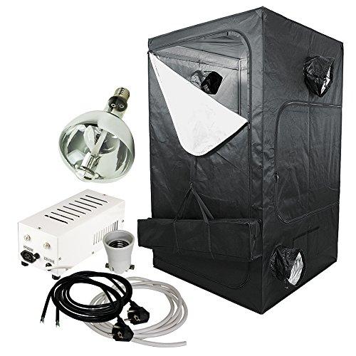 Galleria fotografica GBK - Serra XL con lampada ai vapori di sodio Agrolux da 600 W