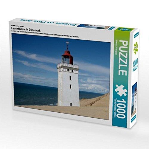 Ein Motiv aus dem Kalender Leuchttürme in Dänemark 1000 Teile Puzzle quer