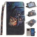 Nancen Samsung Galaxy Grand Prime SM-G530 G531F (5,0 Zoll) Handytasche / Handyhülle. Flip Etui Wallet Case in Bookstyle