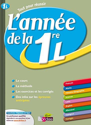ANNEE DE LA 1ERE L