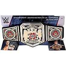 WWE UK Reino Unido RESISTENTE CAMPEONATO Juguete Título Lucha Libre Belt por Mattel