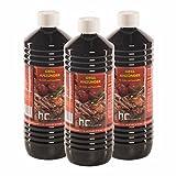 6 x 1 L Grillanzünder - VERSANDKOSTENFREI - in handlichen 1 L Flaschen