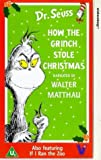 Picture Of Dr. Seuss - How The Grinch Stole Christmas / If I Ran the Zoo [VHS]