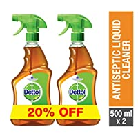 Dettol Antiseptic Trigger 500ml Twin Pack At 20% Off