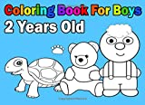 Coloring Book For Boys 2 Years Old: Easy - Best Reviews Guide